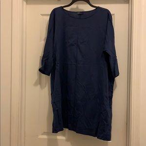 GAP Blue Piko style tunic/dress